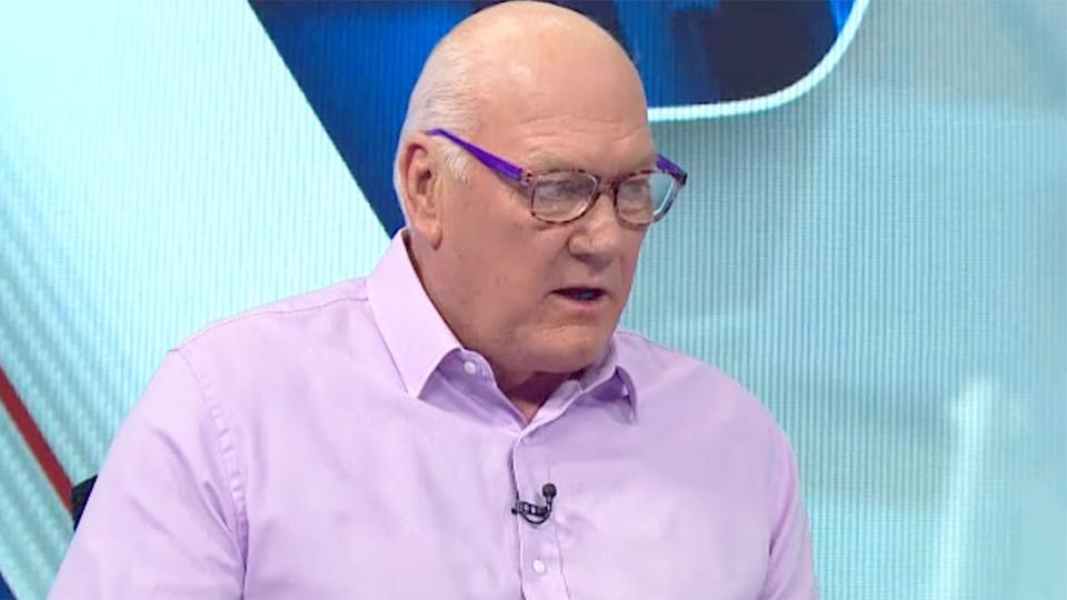 Seen here, Carlton great Mark Maclure says his former club is desperately lacking strong leaders.
