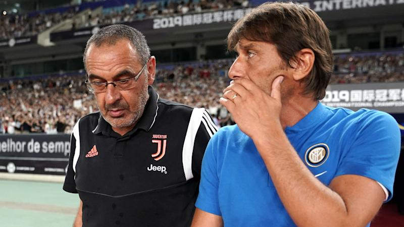 Conte tells Juventus boss Sarri to forget about excuses