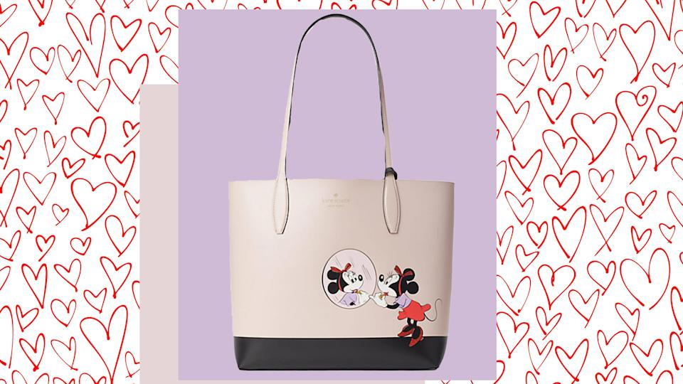 Disney fan? This Minnie Mouse tote is a must-have closet essential.