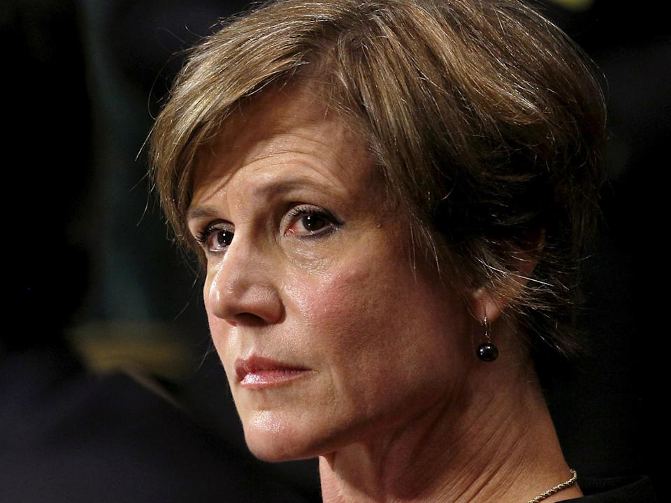 Acting Attorney General Sally Yates was fired by Donald Trump. The Independent.