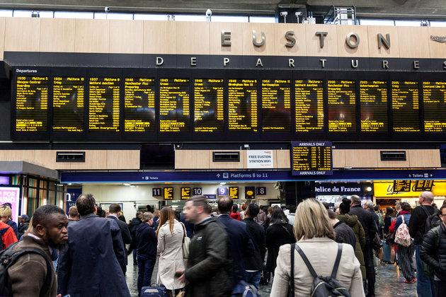 Rail passengers face disruption as London's Euston station closes for essential works.