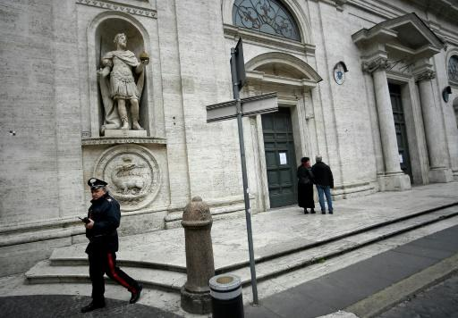 All Catholic churches across Rome have been closed to stem the spread of the coronavirus, while all Masses, weddings and funerals across Italy have been called off