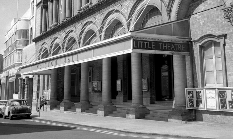 Bristol's Colston Hall, pictured in 1967.