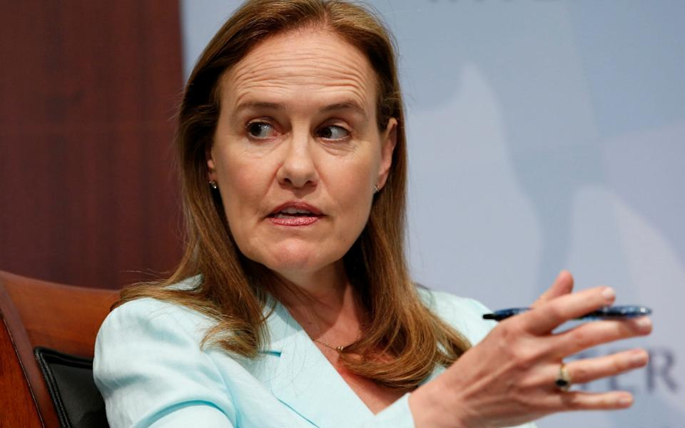 Michele Flournoy is seen as a potential defence secretary, but concerns have been raised about her past links to defence contractors - Yuri Gripas /Reuters