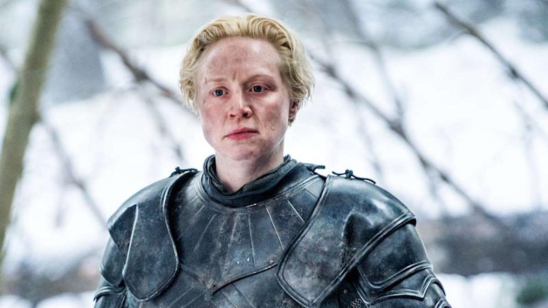 Game of Thrones character Brienne of Tarth, played by Gwendoline Christie. Image: HBO