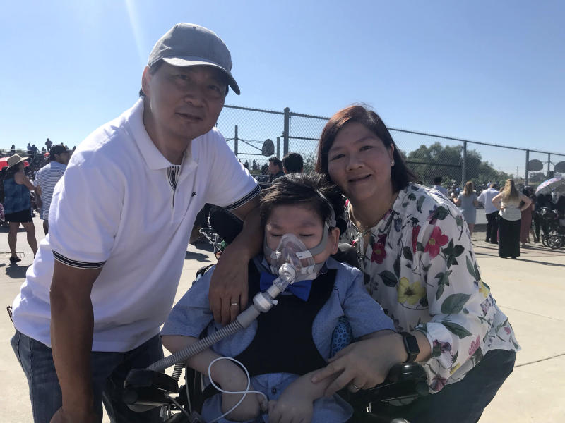 The Cheung family. Bandy, Alex and Carol. (Photo: courtesy of the family)