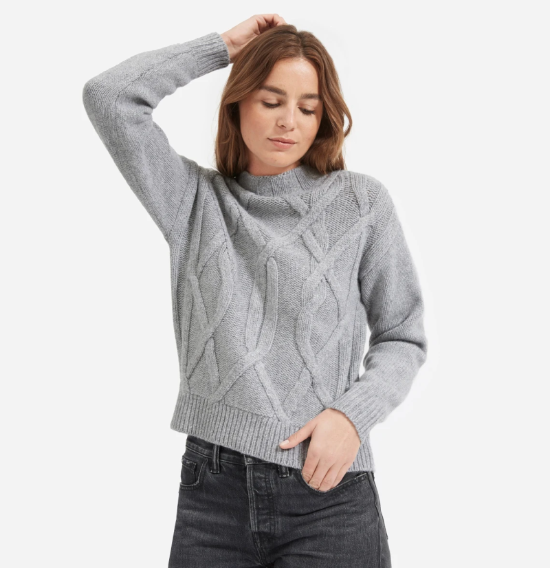 This timeless wardrobe essential is made with the softest wool for a light, yet warm feel. (Photo: Everlane)