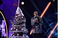 """<p>According to <a href=""""https://www.goodhousekeeping.com/life/entertainment/a30677487/masked-singer-season-3-taping-experience/"""" rel=""""nofollow noopener"""" target=""""_blank"""" data-ylk=""""slk:season 2 contestant Adrienne Bailon"""" class=""""link rapid-noclick-resp"""">season 2 contestant Adrienne Bailon</a>, you have to remain silent backstage, unless you're speaking with one of the limited production members who know your identity.</p>"""