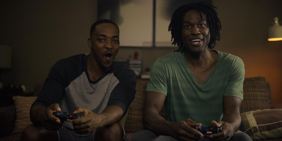 Two estranged college friends (Anthony Mackie and Yahya Abdul-Mateen II) reunite in later life, triggering a series of events that could alter their lives forever.