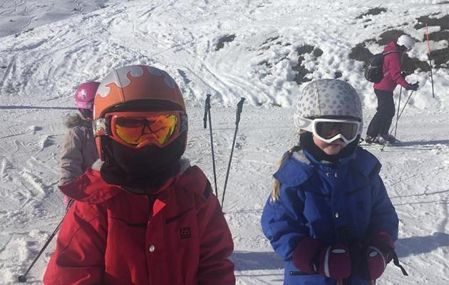 The six-year-old twins looked ready for a family snow day. Photo: Facebook