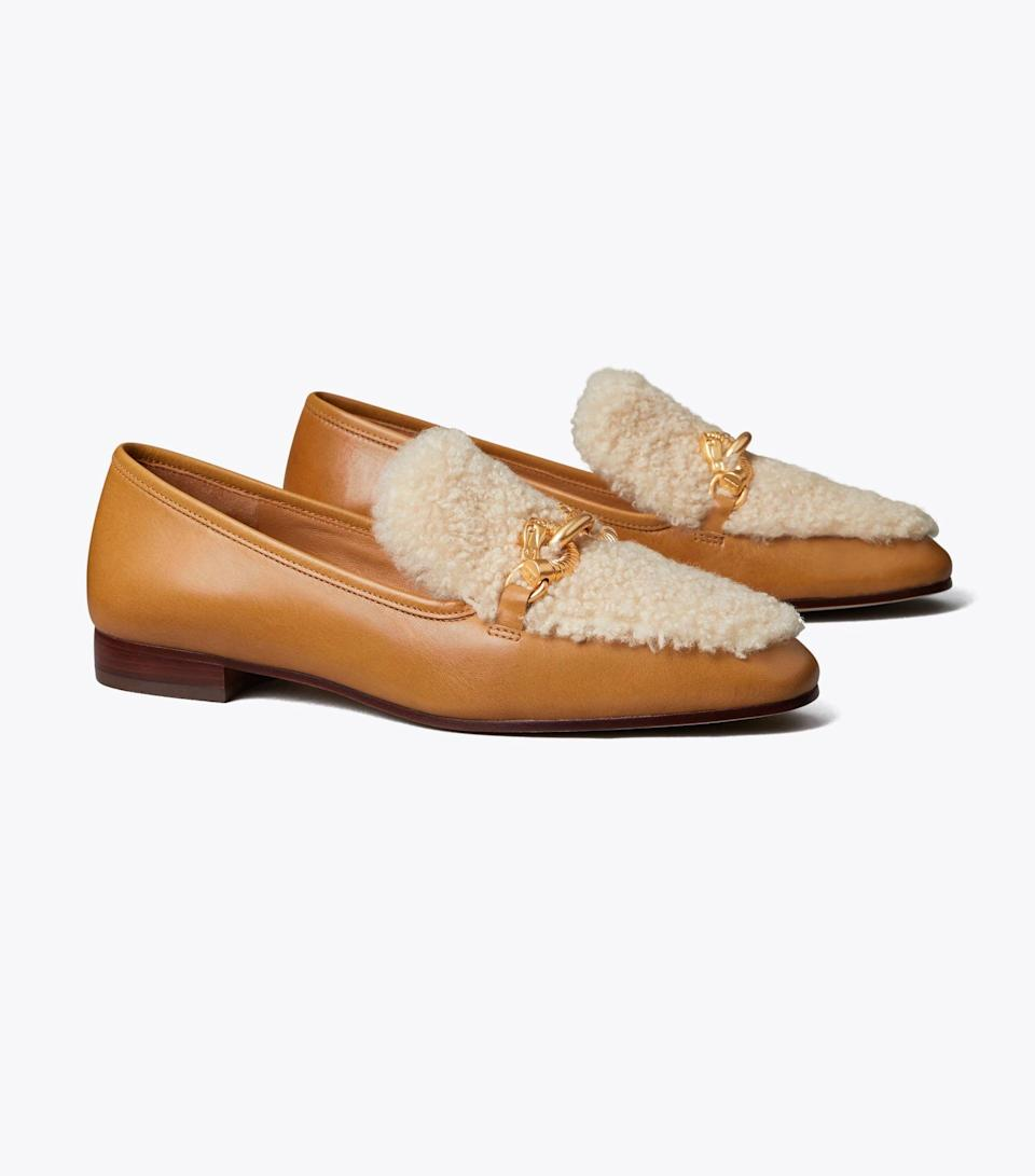 <p>We can't get over these polished and winter-appropriate <span>Tory Burch Jessa Shearling Loafers</span> ($368). Whether paired with suiting or dresses or skirts, they will attract tons of compliments.</p>