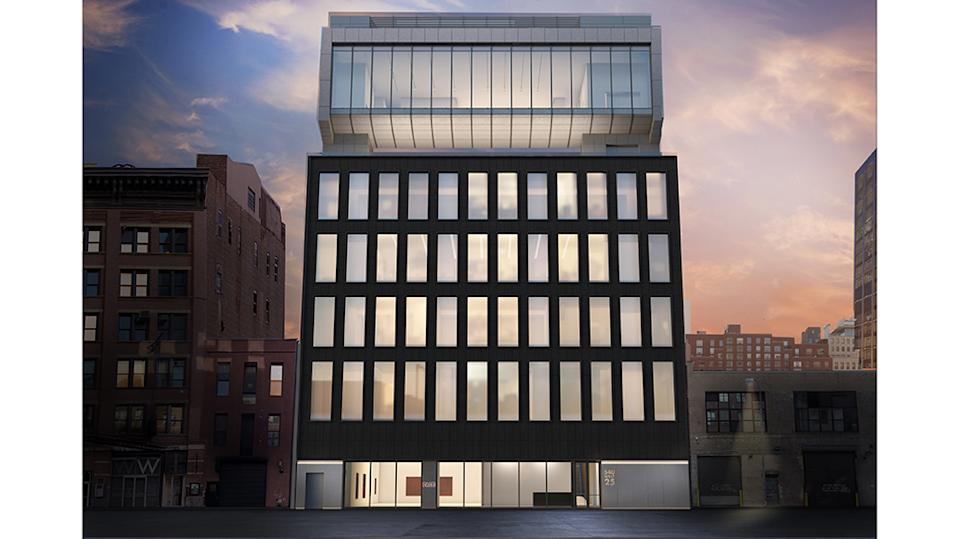 Pace Gallery's West 25th Street building