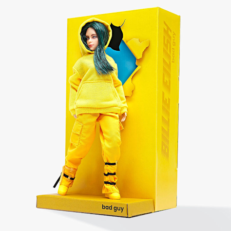 billie eilish doll