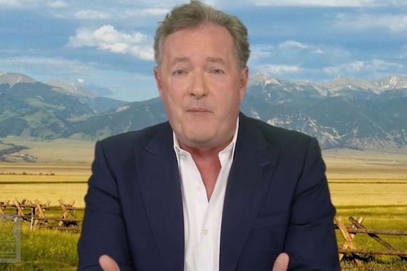 Piers Morgan on Fox Nation