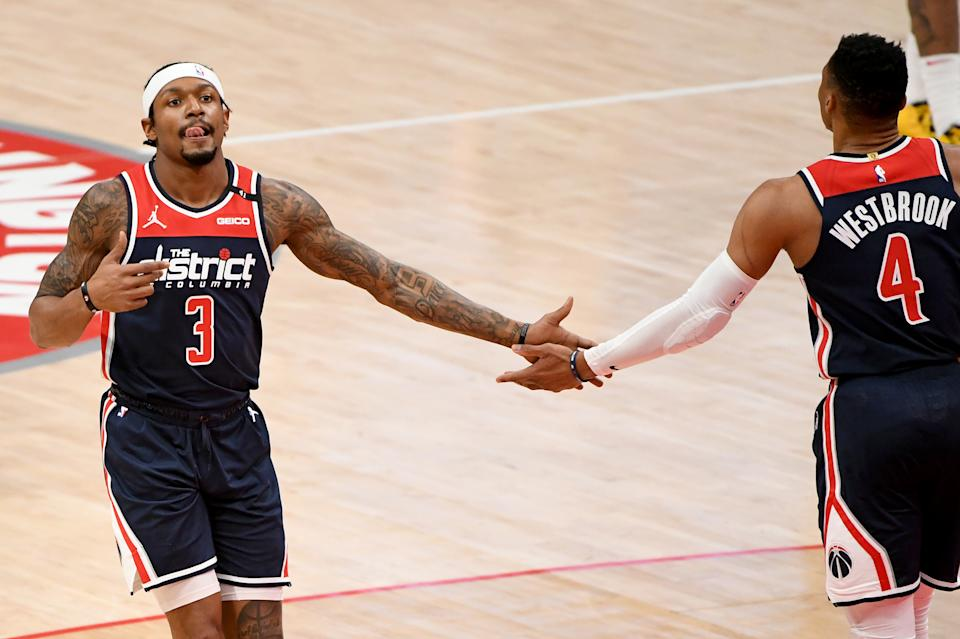 Bradley Beal's belief in the Wizards is being rewarded. (Will Newton/Getty Images)