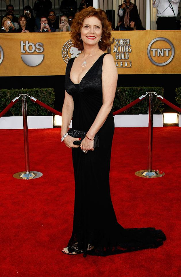 WORST: Susan Sarandon at the 15th Annual Screen Actors Guild Awards in Los Angeles - 01/25/2009