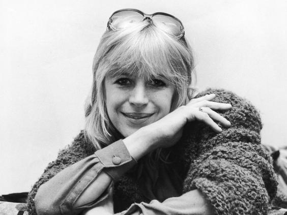 Marianne Faithful visited Lady Isabella Frankau, a naive psychiatrist who doled out 600,000 heroin tablets to celebrities in 1962 (Getty)