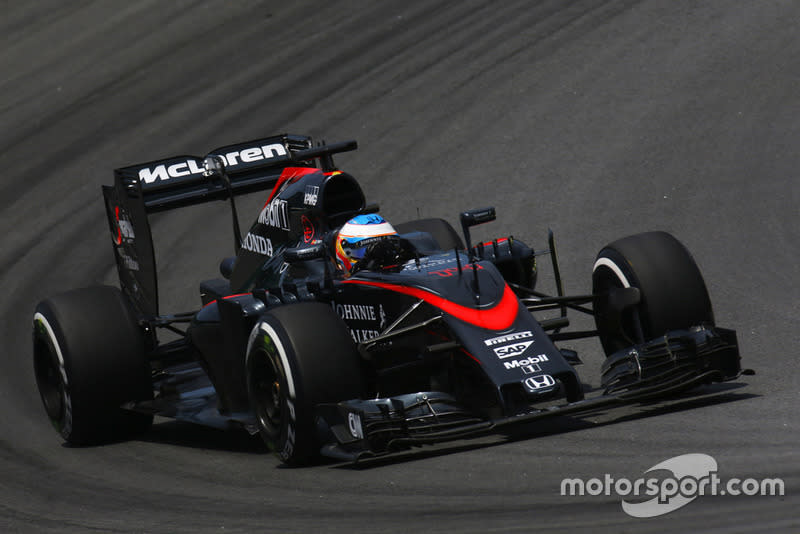 "2015: McLaren-Honda MP4-30<span class=""copyright"">Alastair Staley / Motorsport Images</span>"
