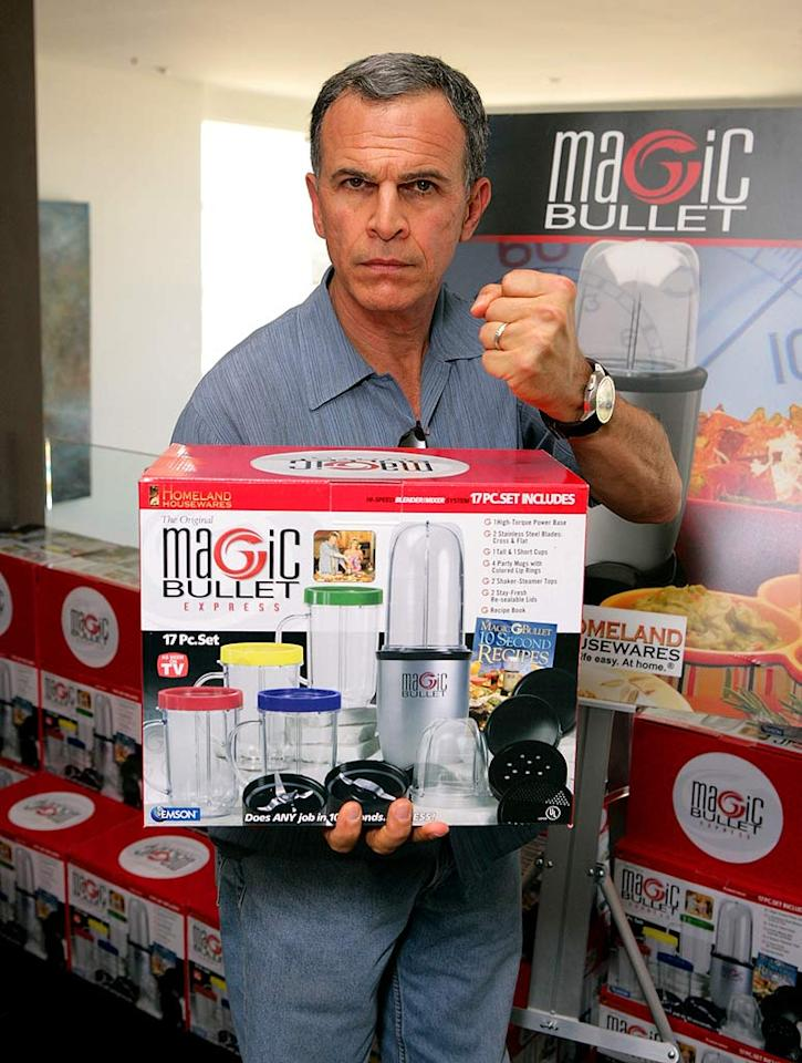 """Tony Plana's """"Ugly Betty"""" character Ignacio Suarez would prefer a chef's knife over a Magic Bullet. Todd Williamson/<a href=""""http://www.wireimage.com"""" target=""""new"""">WireImage.com</a> - September 13, 2007"""