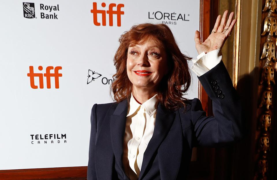 Actor Susan Sarandon arrives for the world premiere of The Death and Life of John F. Donovan at the Toronto International Film Festival (TIFF) in Toronto, Canada, September 10, 2018. REUTERS/Mark Blinch