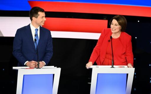Former South Bend, Indiana mayor Pete Buttigieg is seeking to remain in the top tier of US Democratic presidential candidates, while Senator Amy Klobucher is struggling to climb into it