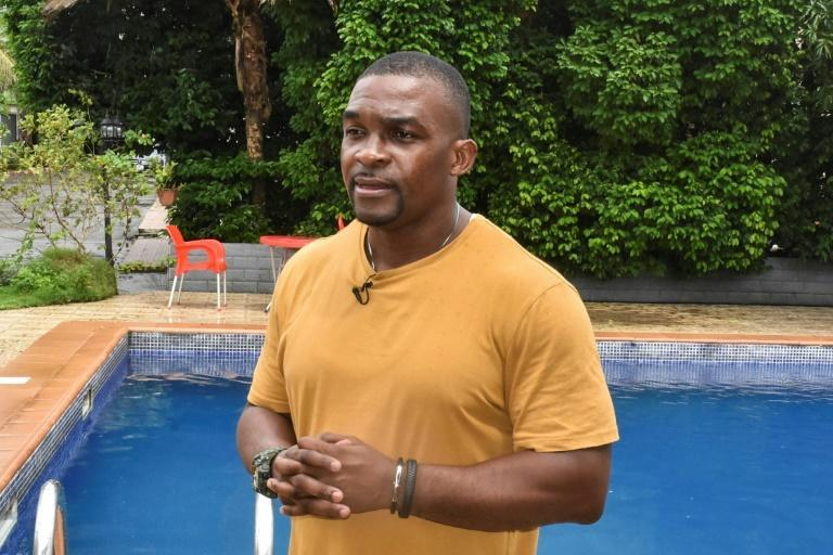 Eric Moussambani now coaches young swimmers in his native Equatorial Guinea