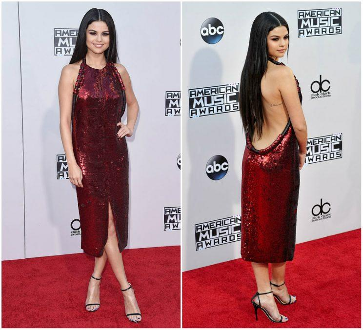7c96f020d02 Selena Gomez at the 2015 American Music Awards (Photo  Getty)