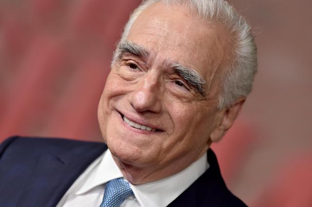 """Martin Scorsese attends the Premiere of Netflix's """"The Irishman"""" at TCL Chinese Theatre on October 24, 2019. (Axelle/Bauer-Griffin/FilmMagic)"""