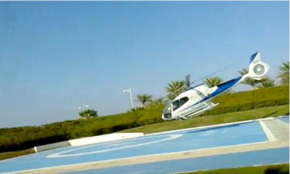 A report into a helicopter accident at The Atlantis hotel on the Palm Jumeirah earlier this year believes the chopper lost control.