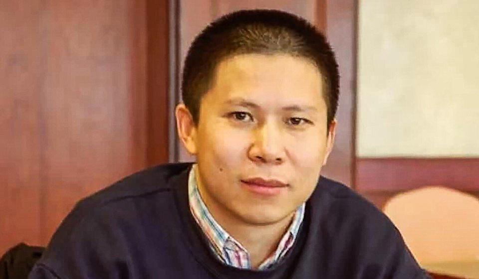 """Xu Zhiyong was detained in February last year after taking part in a meeting where """"democratic transition in China"""" was discussed. Photo: Handout"""