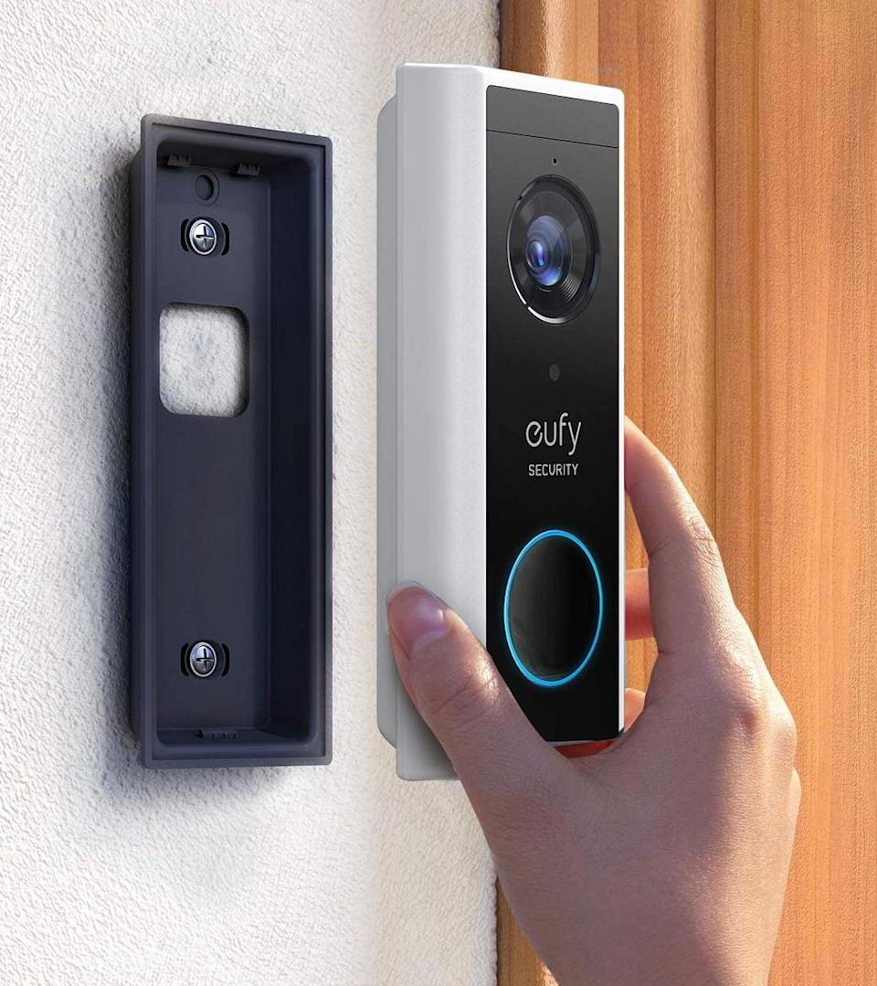 eufy Security 2K Wireless Video Doorbell is on sale for $164, today only. (Photo: eufy)