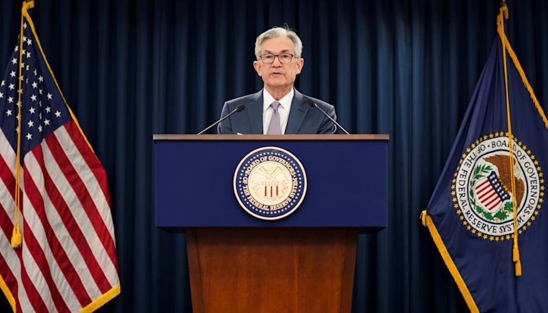 Fed's Powell says virus to dictate when U.S. economy reopens