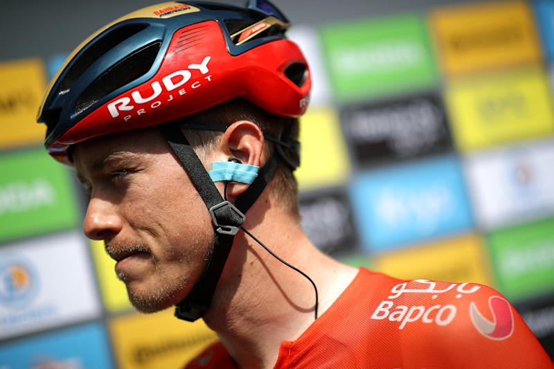 ALBI, FRANCE - JULY 15: Start / Rudy Project Helmet / Rohan Dennis of Australia and Team Bahrain-Merida / during the 106th Tour de France 2019, Stage 10 a 217,5km stage from Saint-Flour to Albi / TDF / #TDF2019 / @LeTour / on July 15, 2019 in Albi, France. (Photo by Chris Graythen/Getty Images)