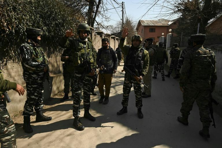 Friday's incident was the fourth involving anti-India militants since Wednesday when a guided trip of 24 ambassadors arrived