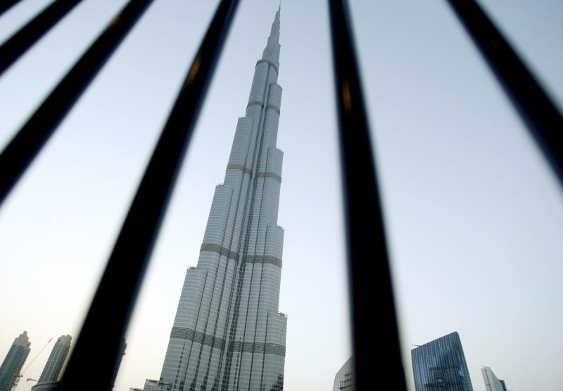 File photo of the Burj Khalifa tower in downtown Dubai