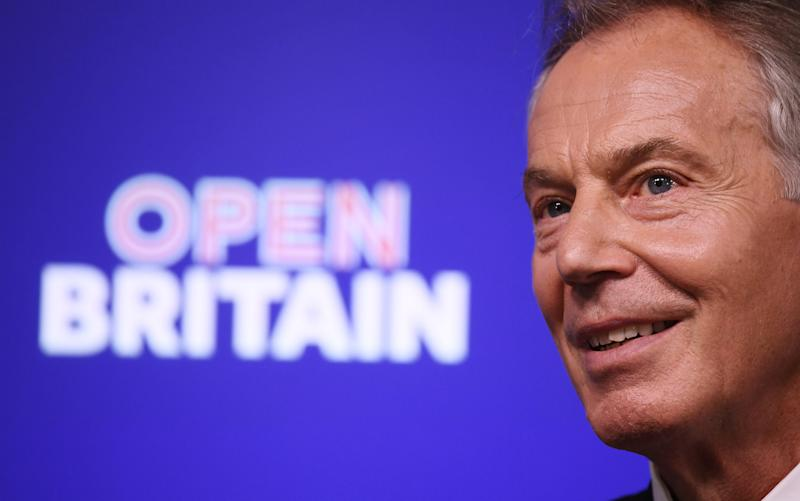 Former British Prime Minister Tony Blair - Credit: Carl Court/Getty