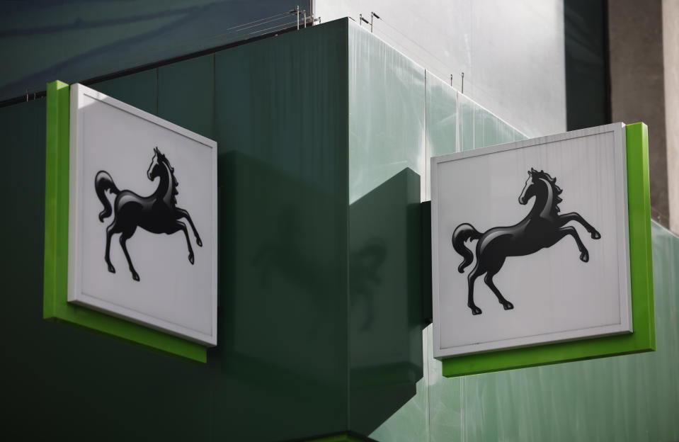 A branch of a Lloyds Bank in London. Photo: Tolga Akmen/AFP via Getty Images
