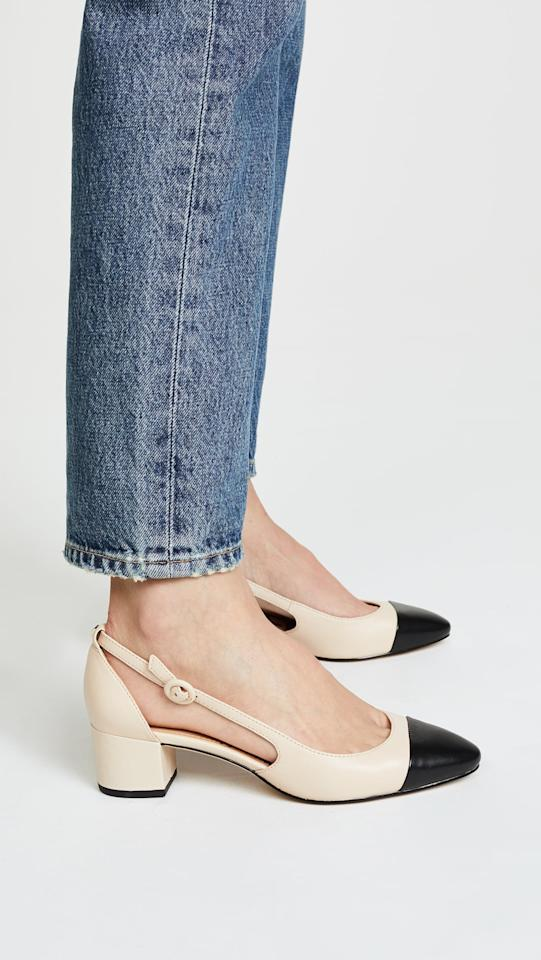 "<p>These two-tone <a href=""https://www.popsugar.com/buy/Sam-Edelman-Leah-Cap-Toe-Pumps-454333?p_name=Sam%20Edelman%20Leah%20Cap-Toe%20Pumps&retailer=shopbop.com&pid=454333&price=120&evar1=fab%3Auk&evar9=45625855&evar98=https%3A%2F%2Fwww.popsugar.com%2Ffashion%2Fphoto-gallery%2F45625855%2Fimage%2F46875183%2FSam-Edelman-Leah-Cap-Toe-Pumps&list1=shopping%2Cfall%20fashion%2Cshoes%2Cfall%2Cwinter%2Cwinter%20fashion&prop13=api&pdata=1"" rel=""nofollow"" data-shoppable-link=""1"" target=""_blank"" class=""ga-track"" data-ga-category=""Related"" data-ga-label=""https://www.shopbop.com/leah-cap-toe-pumps-sam/vp/v=1/1501967804.htm"" data-ga-action=""In-Line Links"">Sam Edelman Leah Cap-Toe Pumps</a> ($120) are perfect for the office and beyond.</p>"