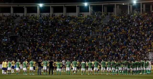 After losing 19 players and 24 club officials in a plane crash on November 28, 2016, Chapecoense is trying to rise from the ashes (AFP Photo/Miguel SCHINCARIOL)
