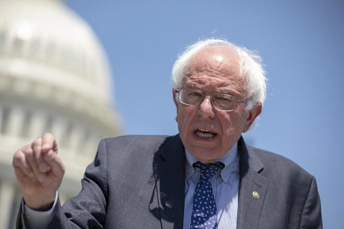 Bernie Sanders, an independent US senator who challenged Clinton for the Democratic nomination in 2016 and retains a loyal following, appears ready to don the boxing gloves in 2018 for his second White House bid and go toe to toe with Donald Trump (AFP Photo/ALEX EDELMAN)