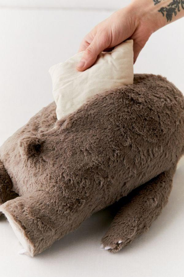 """<p>With a microwavable pouch filled with flax seed and lavender, the <a href=""""https://www.popsugar.com/buy/Smoko-Toasty-Heatable-Sloth-Plushie-484346?p_name=Smoko%20Toasty%20Heatable%20Sloth%20Plushie&retailer=urbanoutfitters.com&pid=484346&price=29&evar1=savvy%3Aus&evar9=46546421&evar98=https%3A%2F%2Fwww.popsugar.com%2Fsmart-living%2Fphoto-gallery%2F46546421%2Fimage%2F46546819%2FSmoko-Toasty-Heatable-Plushie&list1=pillows%2Curban%20outfitters%2Csloth&prop13=mobile&pdata=1"""" rel=""""nofollow"""" data-shoppable-link=""""1"""" target=""""_blank"""" class=""""ga-track"""" data-ga-category=""""Related"""" data-ga-label=""""http://www.urbanoutfitters.com/shop/smoko-toasty-heatable-plushie?category=party-supplies-games&amp;color=004&amp;quantity=1&amp;size=ONE%20SIZE&amp;type=REGULAR&amp;viewcode=b"""" data-ga-action=""""In-Line Links"""">Smoko Toasty Heatable Sloth Plushie</a> ($29) will instantly soothe you.</p>"""