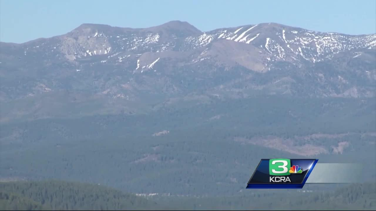 A swarm of earthquakes rattled the Sierra, north of Lake Tahoe early Tuesday morning, according to the U.S. Geological Survey. Experts say earthquake activity increases during this time of the year due to the snowmelt.