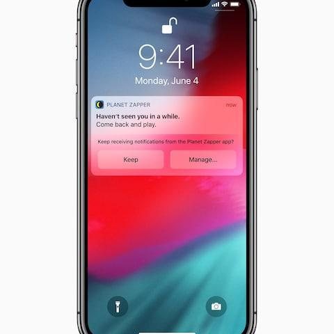 <span>Apple's new mobile operating system will suggest that some notifications are turned off.&nbsp;</span>