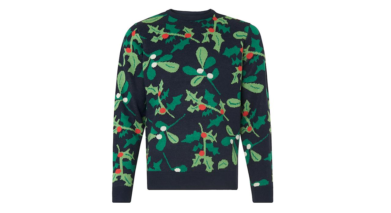 "<p><a rel=""nofollow"" href=""http://www.marksandspencer.com/novelty-crew-neck-jumper/p/p60128811?image=SD_03_T30_6032M_F4_X_EC_90&color=NAVYMIX&prevPage=plp&pdpredirect"">M&S, £25 </a> </p>"