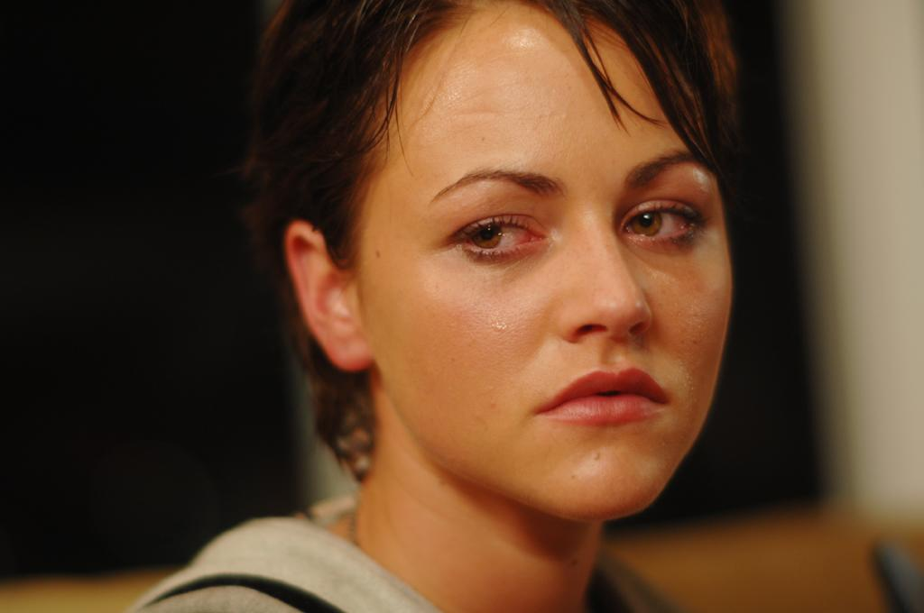 """<a href=""""http://movies.yahoo.com/movie/contributor/1809678999"""">Jaime Winstone</a> in Magnet Releasing's <a href=""""http://movies.yahoo.com/movie/1809931854/info"""">Donkey Punch</a> - 2009"""