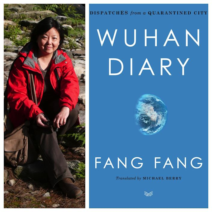 """Fang Fang's """"Wuhan Diary: Dispatches From a Quarantined City"""" became a target of nationalist anger in China after it was published in English. <span class=""""copyright"""">(HarperCollins)</span>"""