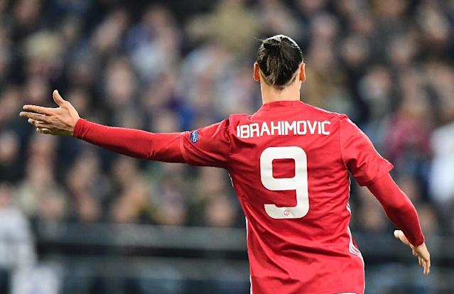 Manchester United's Zlatan Ibrahimovic was a stunning success in his first season at the club (AFP Photo/EMMANUEL DUNAND)