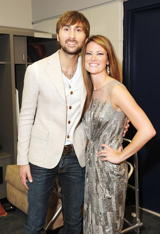NASHVILLE, TN - JUNE 06:  Dave Haywood and Kelli Cashiola attend the 2012 CMT Music awards at the Bridgestone Arena on June 6, 2012 in Nashville, Tennessee.  (Photo by Michael Loccisano/WireImage)