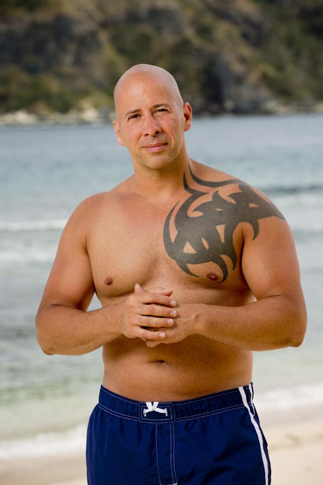 Tony Vlachos cast photo for Survivor: Game Changers