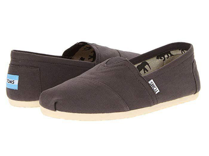 "These TOMS have a canvas upper, breathable textile lining and suede leather footbed. <strong><a href=""https://fave.co/2R3AlXe"" target=""_blank"" rel=""noopener noreferrer"">Find them for $48 at Zappos.</a></strong>"